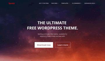 Тема Bento для WordPress