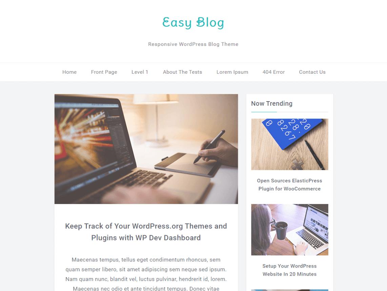 Тема EasyBlog для WordPress