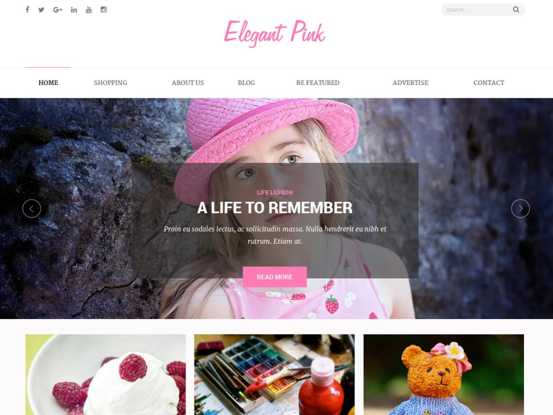 Тема Elegant Pink