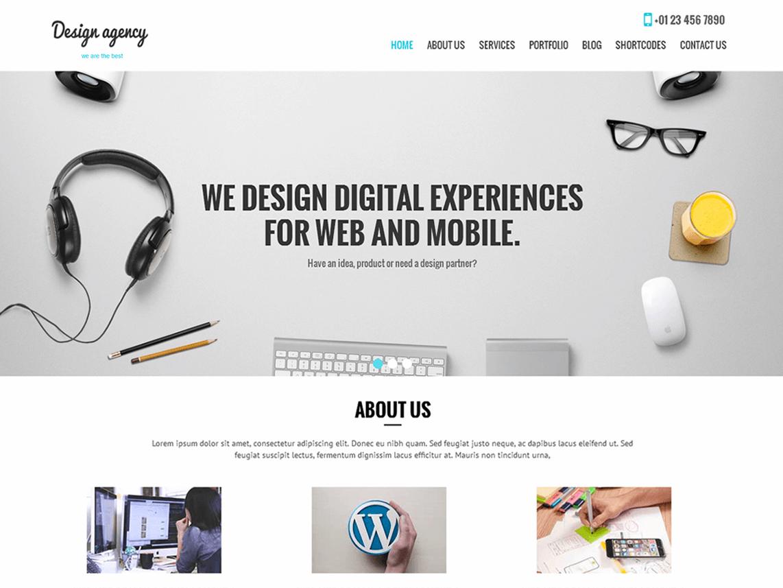 Тема SKT Design Agency