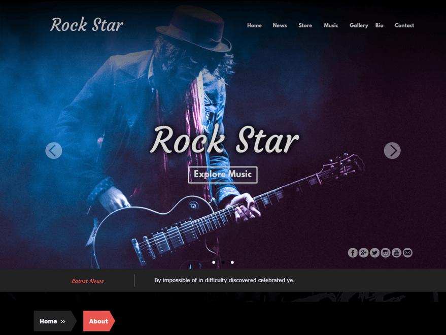 Тема Rock-Star