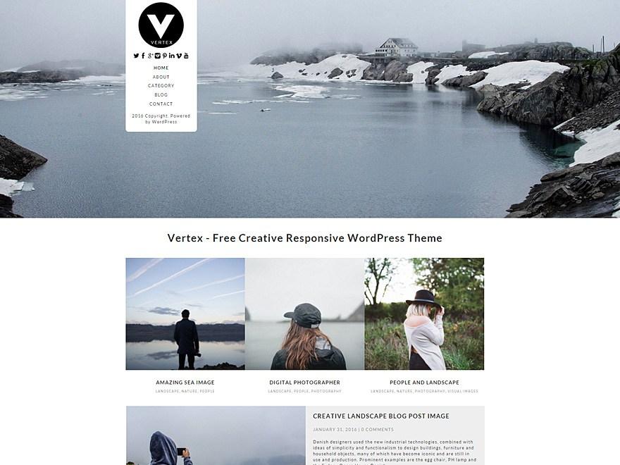 Тема Vertex для WordPress